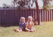 Simple Times: Me and a friend